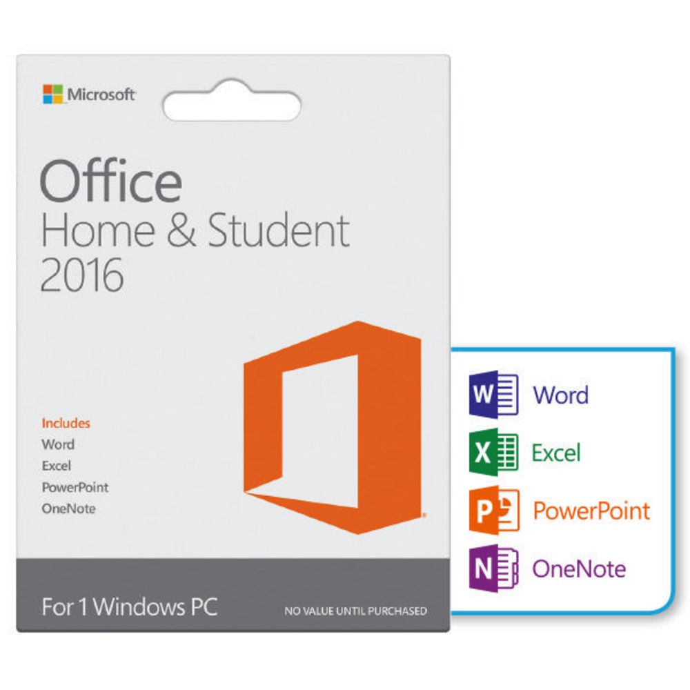 microsoft home student office 2016